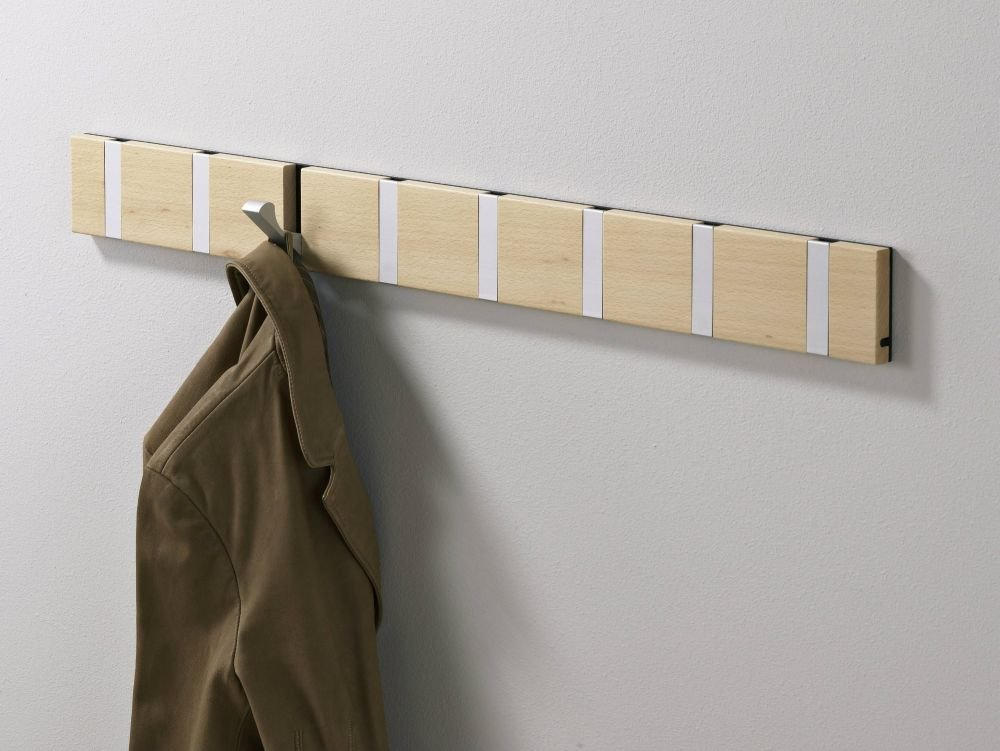 Coat rack beech lacquer