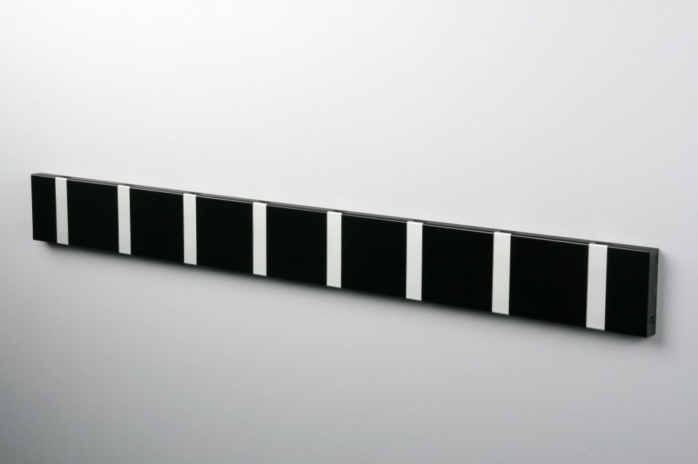 Nordic design hook rail for wall in hallway